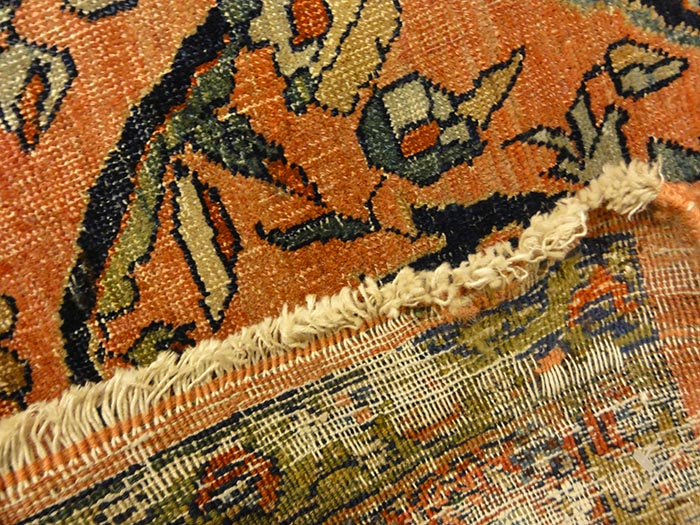 Antique Persian Bijar Mostufi Design | Santa Barbara Design Center | Rugs and More