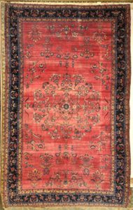 Antique Manchester Kashan Rug | Rugs and More | Santa Barbara Design Center
