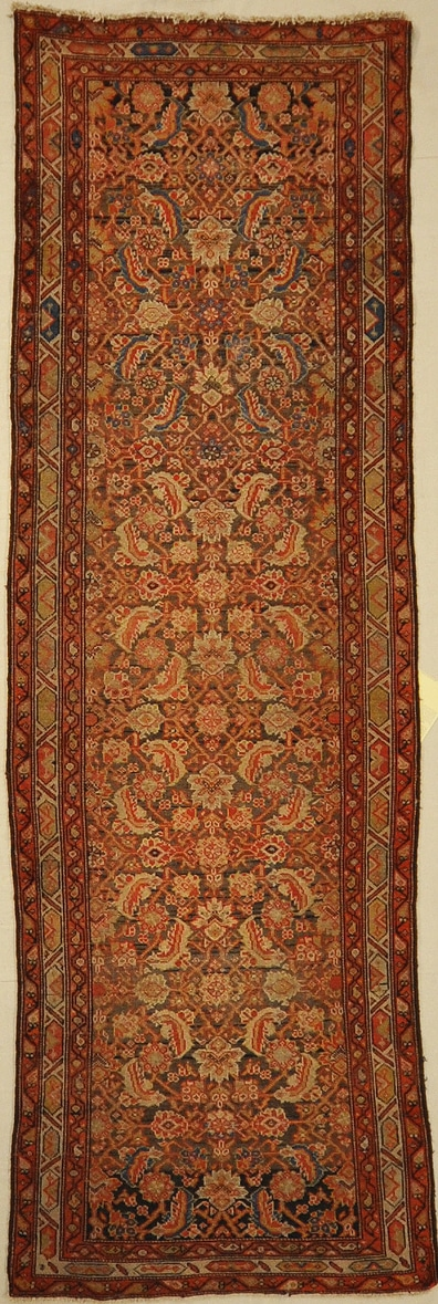 Finest Ziegler Khotan hand made from natural wool and organic dyes 2'6 x 11'4