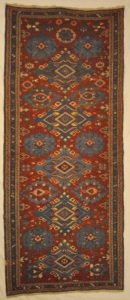 Vintage Soumak Runner | Rugs and More | Santa Barbara Design Center
