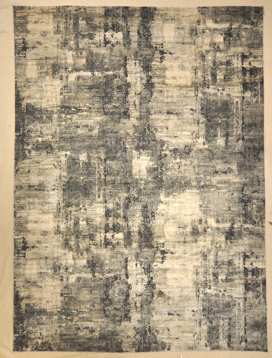 Modern Charcoal Rug | Rugs and More | Santa Barbara Design Center 32977 .