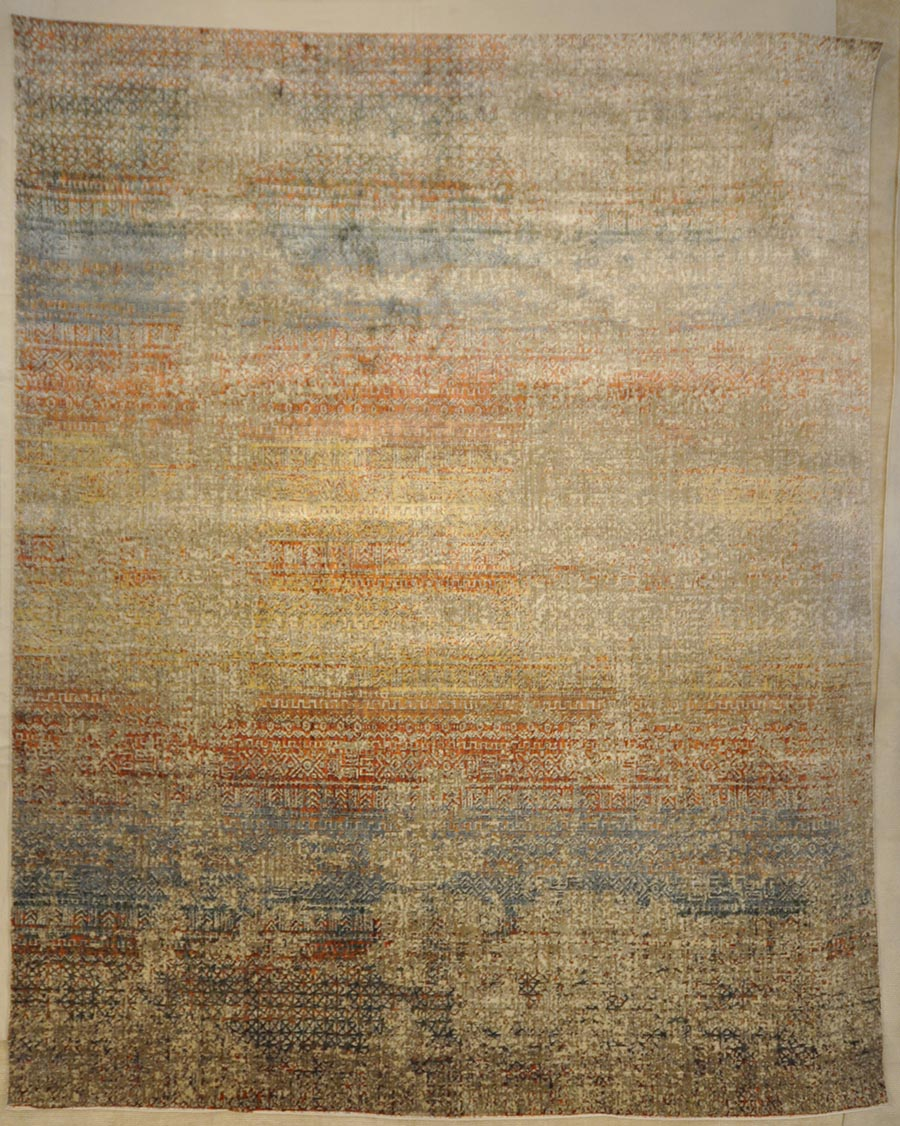 Modern Smoke Rug | Rugs and More | Santa Barbara Design Center