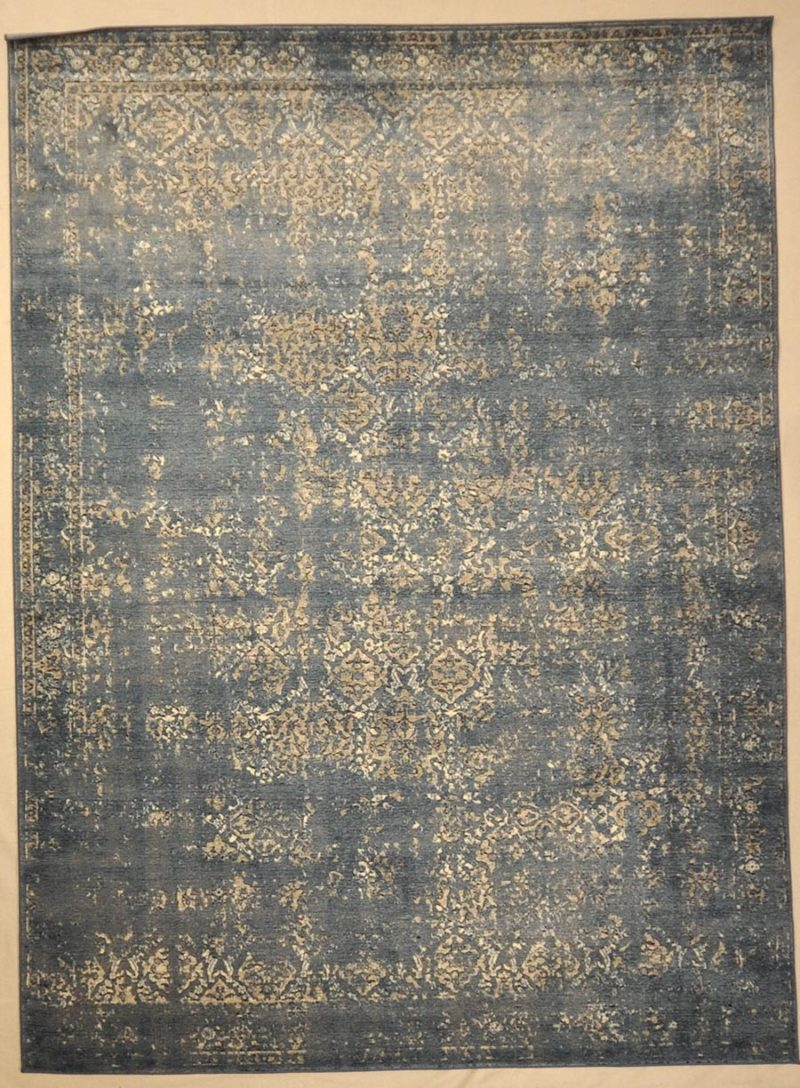 Modern Blue Taupe Rug Rugs and More | Santa Barbara Design Center