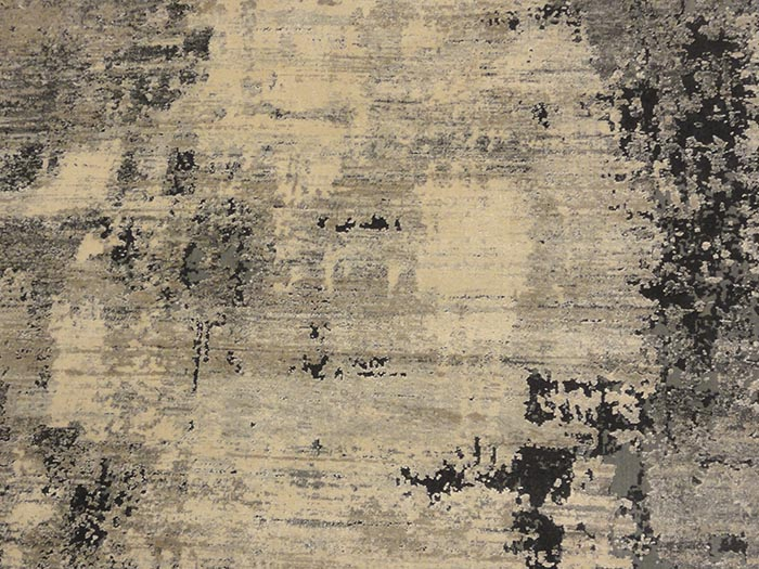 Modern Ivory Charcoal Rug | Rugs and More | Santa Barbara Design Center 33020