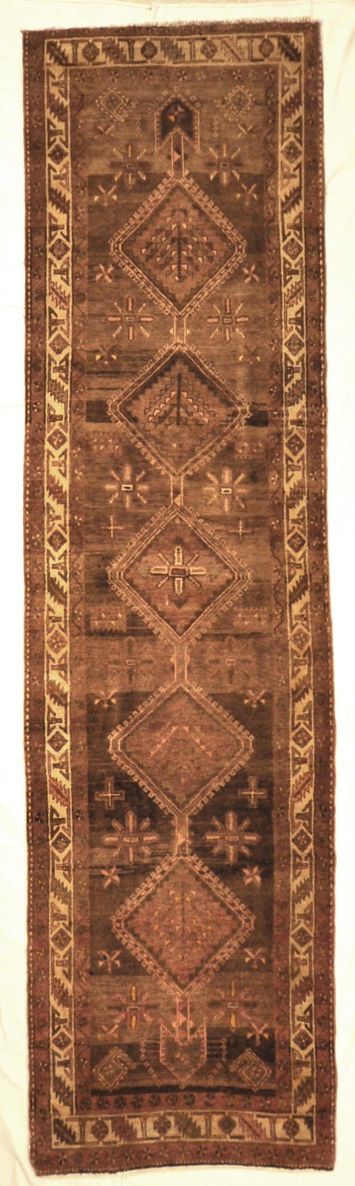 Antique Heriz Runner Carpet Rugs and More 27818