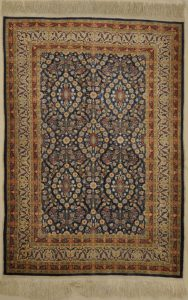 Vintage Hereke Silk Rugs and more oriental carpet 33077-1