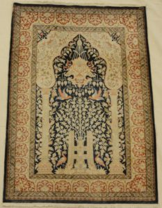 Vintage Hereke Silk rugs and more oriental carpet 33078-