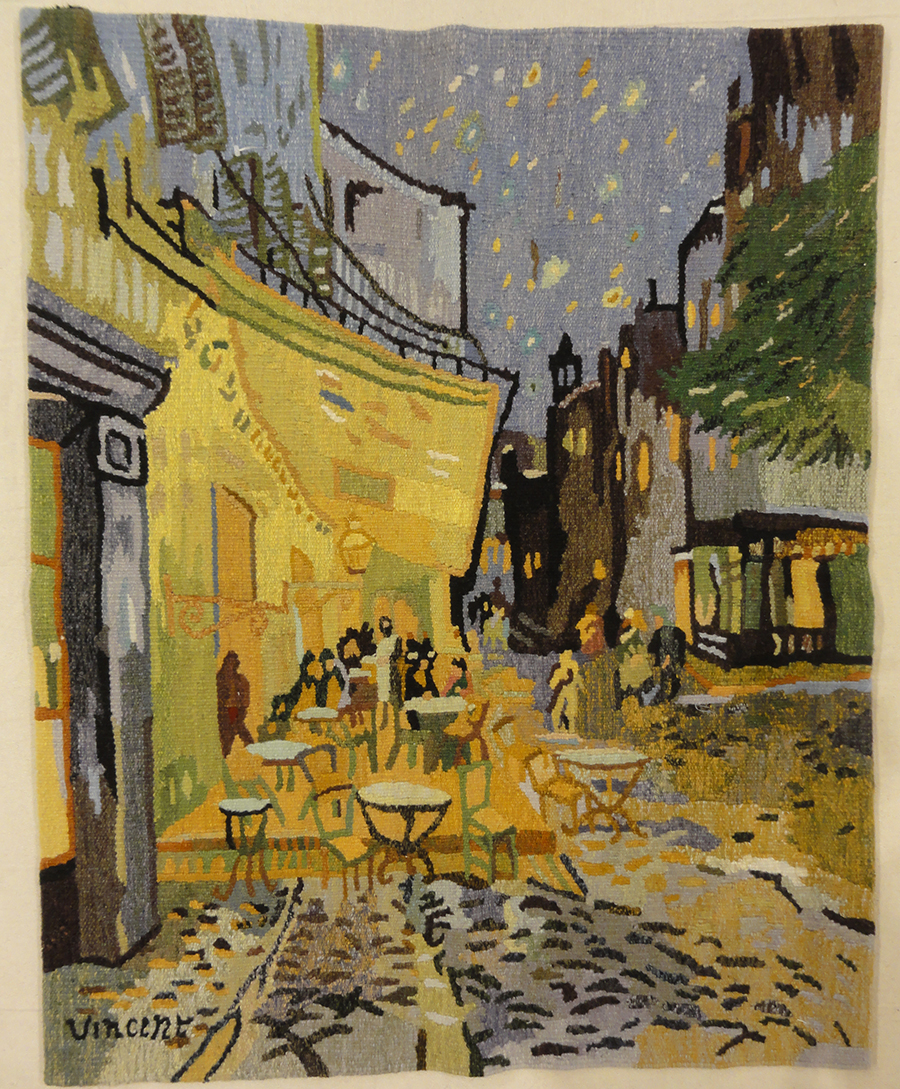 Vincent Van Gogh Night in Paris Tapestry | Rugs & More | Oriental Carpets | Santa Barbara