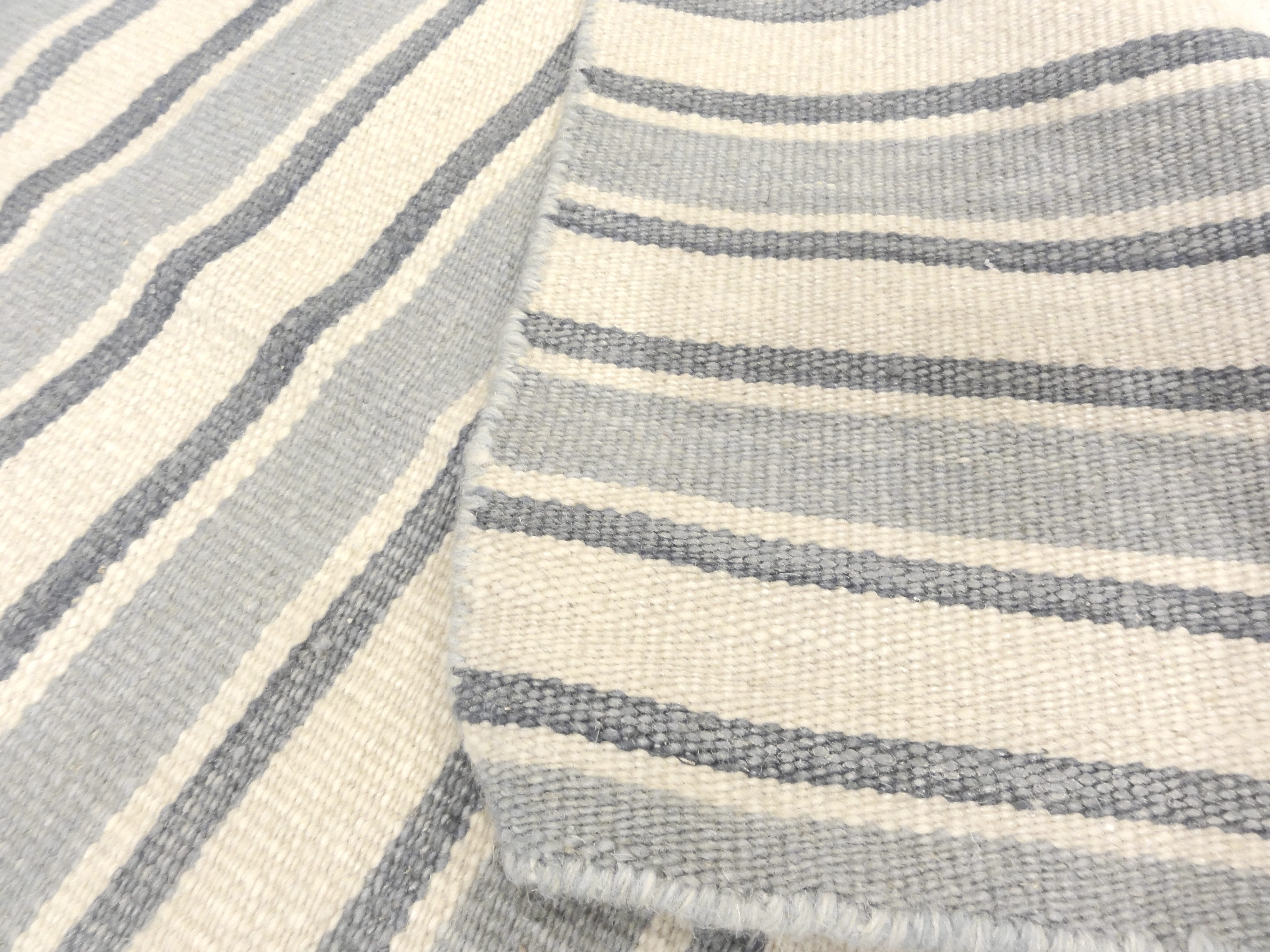 Blue Stripe Kelim | Rugs and More | Santa Barbara Design Center