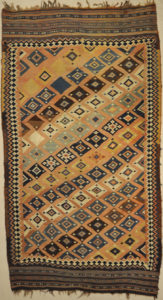 Antique Qashqai Kelim | Rugs & More| Santa Barbara Design Center 33105 . 2
