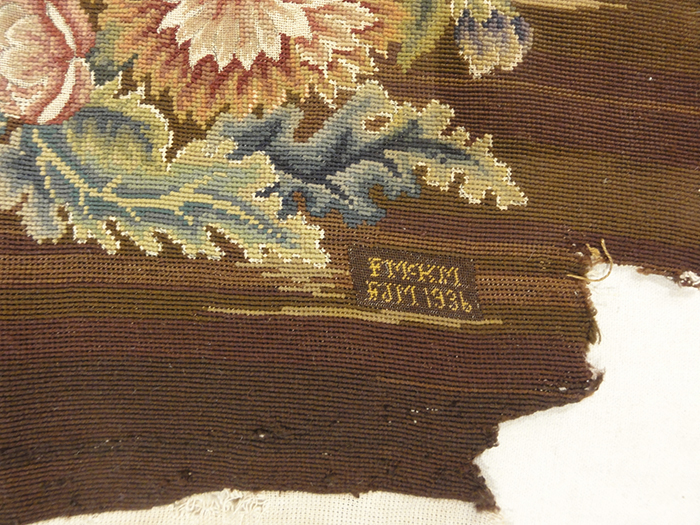 Needlepoint Chair covering