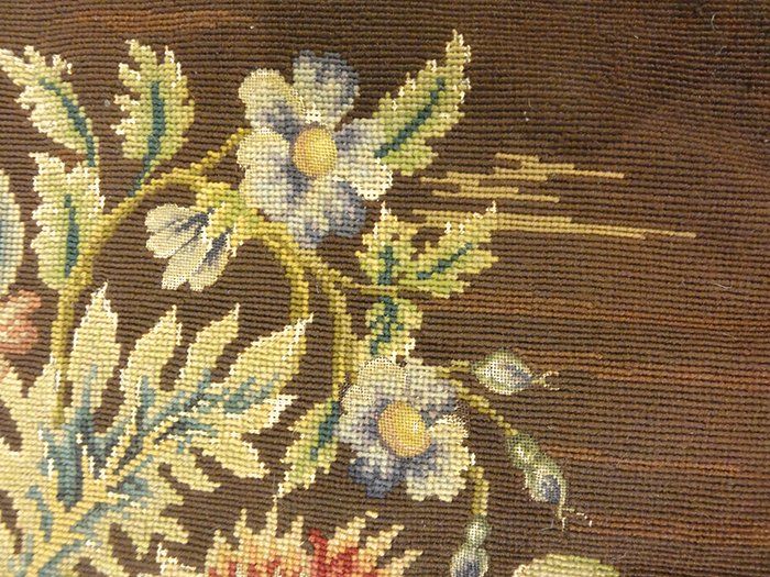 Needlepoint Chair Covering | Rugs & More| Santa Barbara Design Center 3310