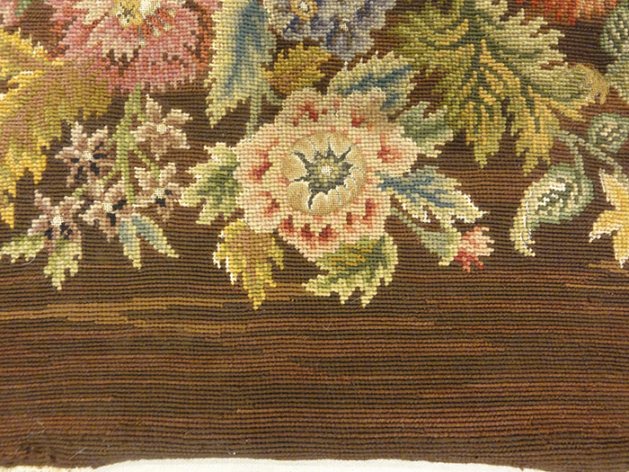Needlepoint Chair Covering | Rugs & More| Santa Barbara Design Center 33116