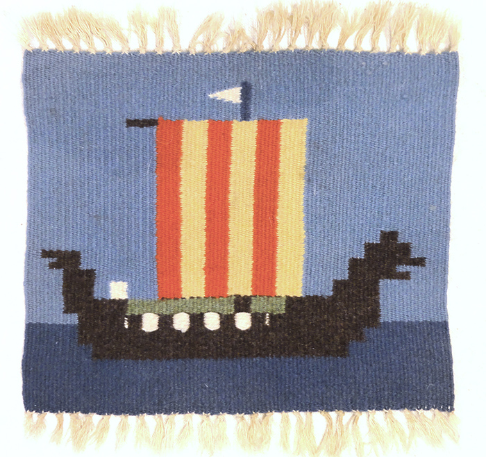 Small Ship Swedish Textile | Rugs & More| Santa Barbara Design Center 33168