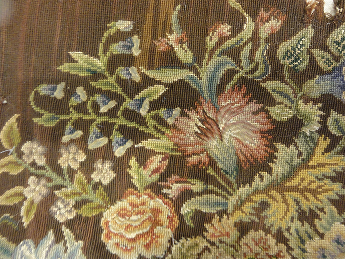 Needlepoint Chair Covering | Rugs & More| Santa Barbara Design Center