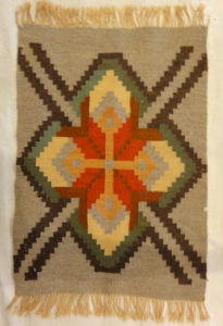 Small Geometric Swedish Textile | Rugs & More| Santa Barbara Design Center 27877 .