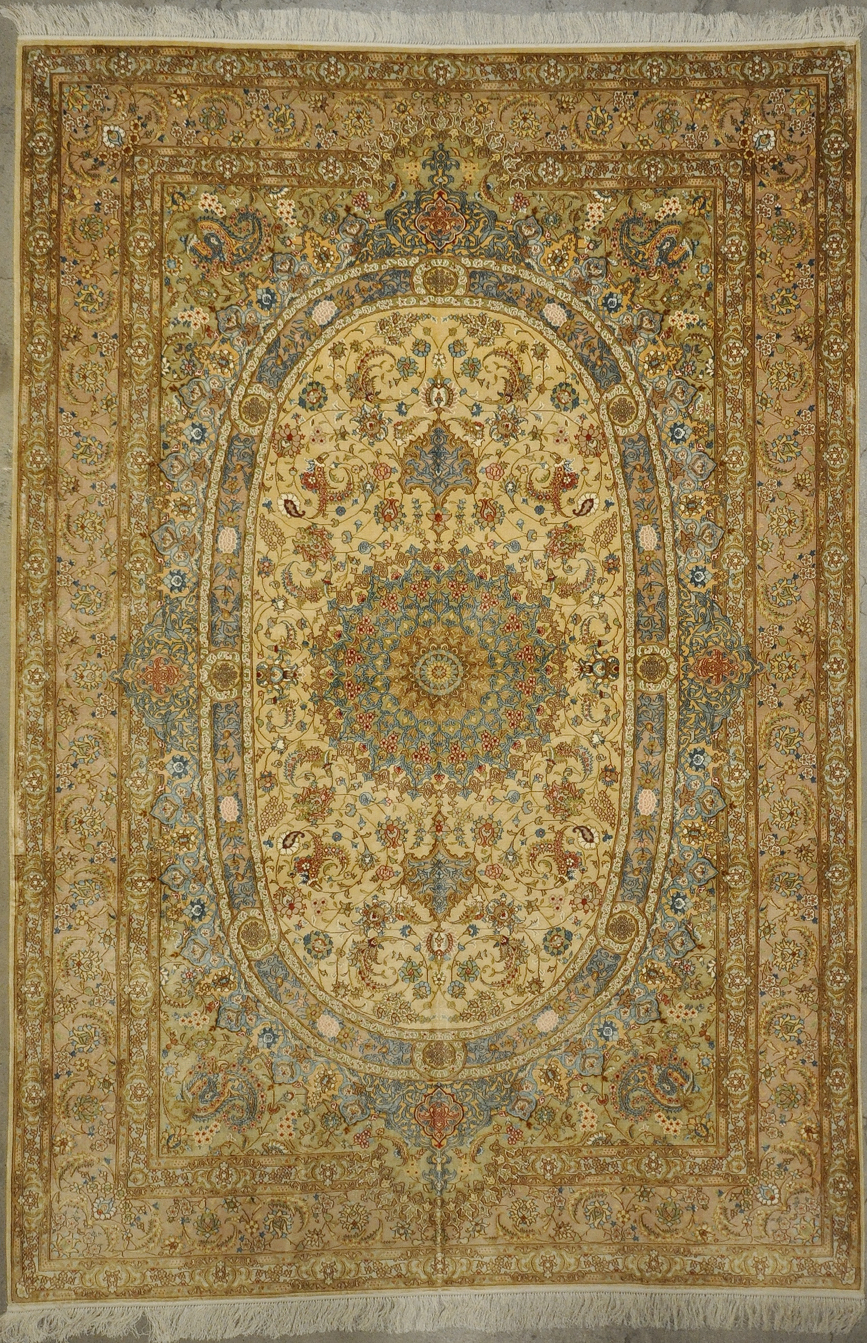Finest Silk Qum rugs and more oriental carpet 33191-