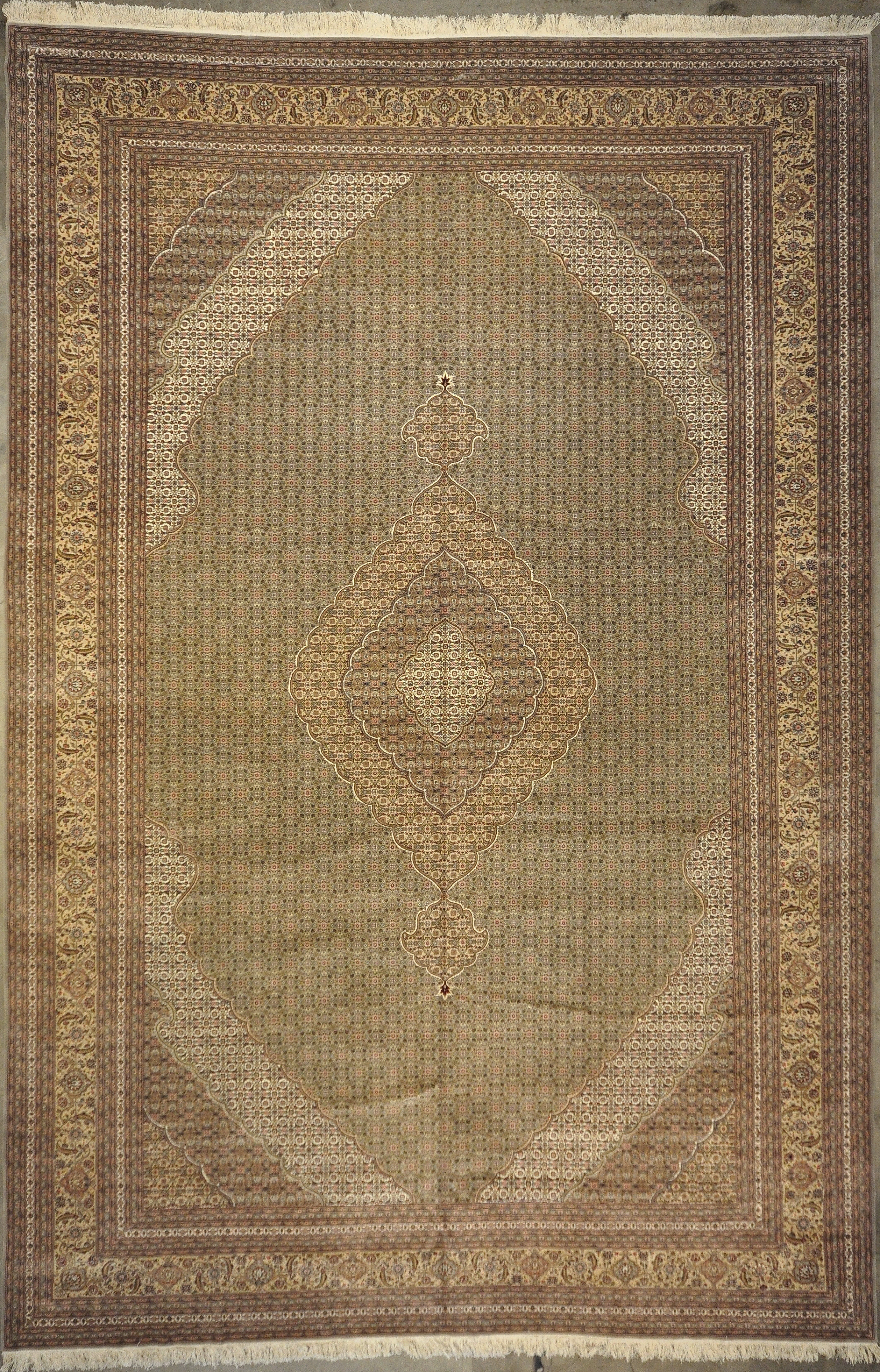 Mahi Tabriz Rug rugs and more oriental carpet 33208-