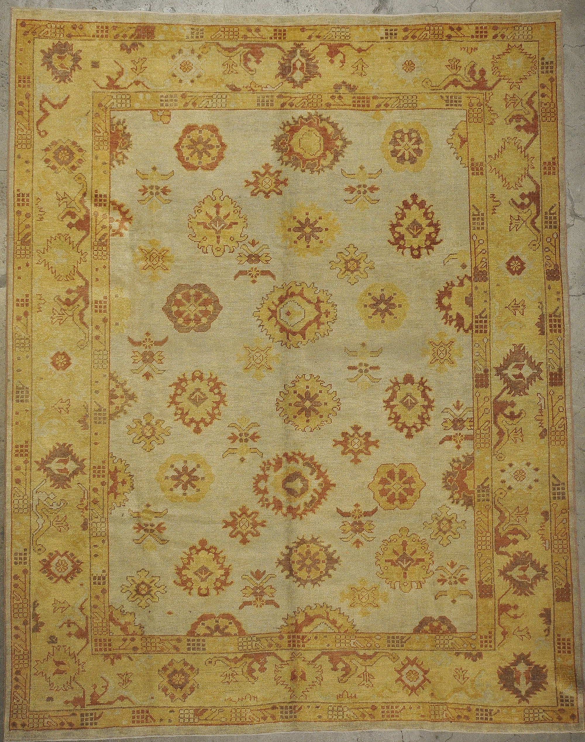 Original Oushak Rugs and more oriental carpet 33214-