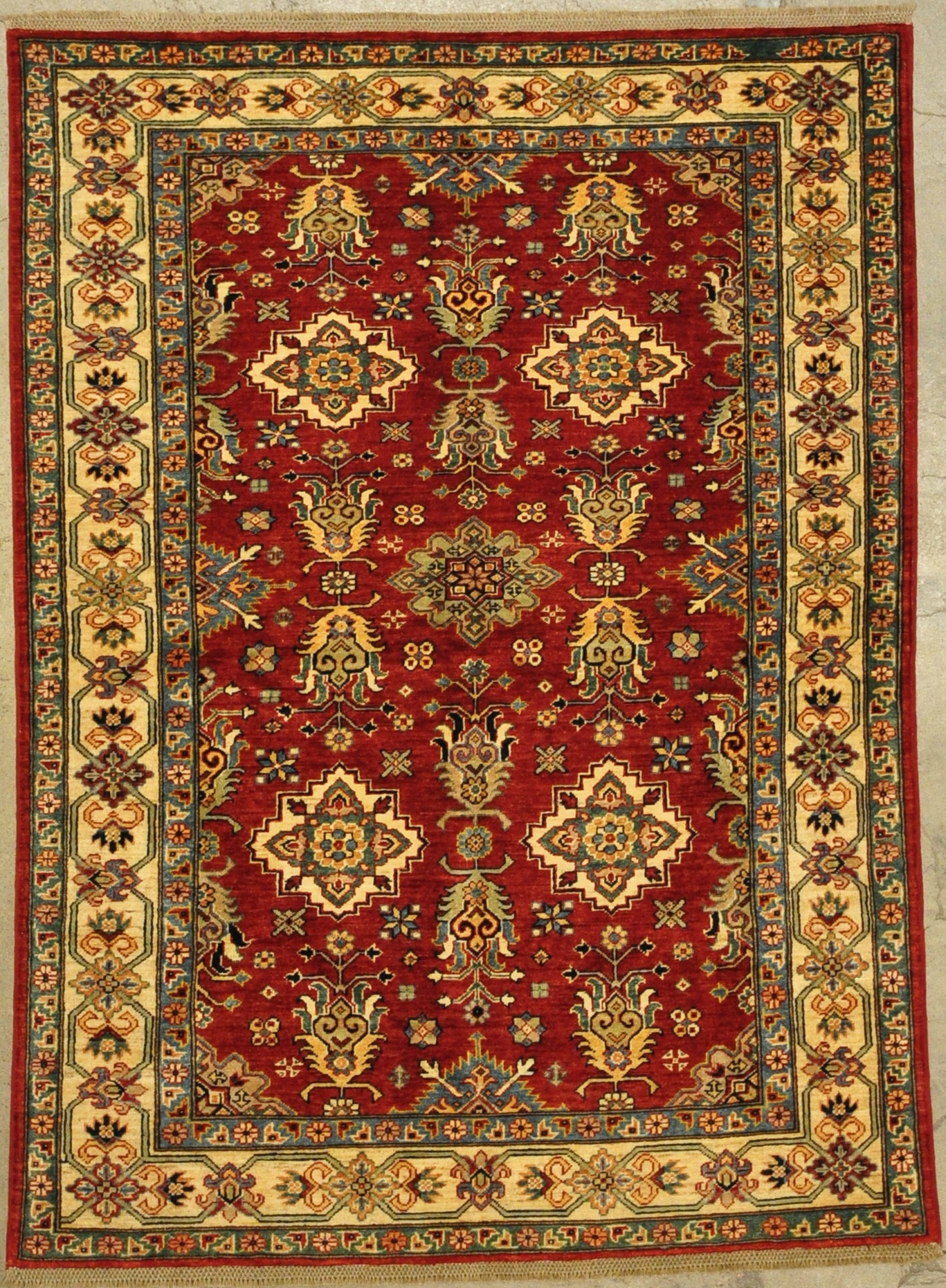 Fine Kazak Rug rugs and more oriental carpet 33217-