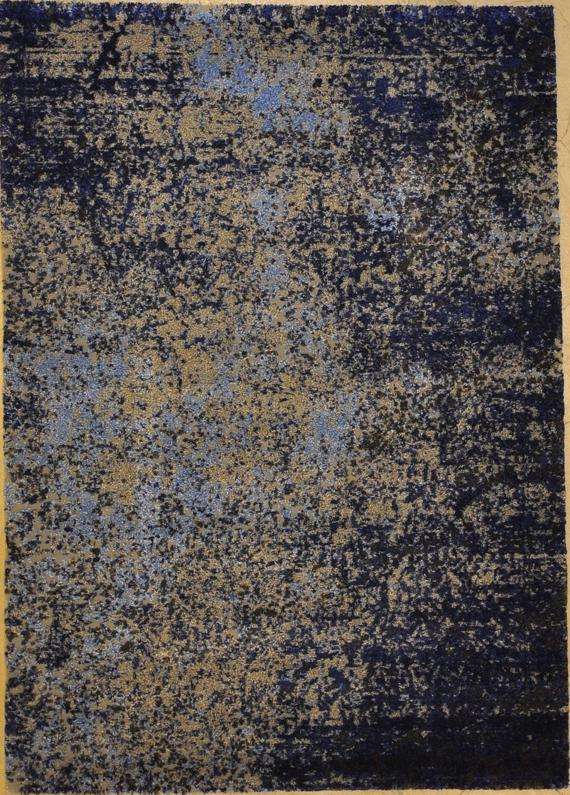 Modern Grey Navy Rug rugs and more oriental carpet 33029-