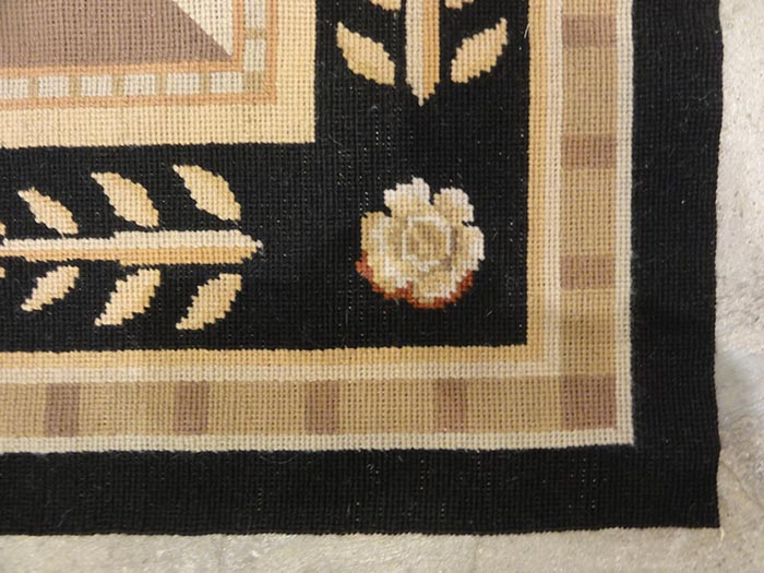 Floral Needlepoint | Rugs & More | Oriental Carpets | Santa Barbara Design Center