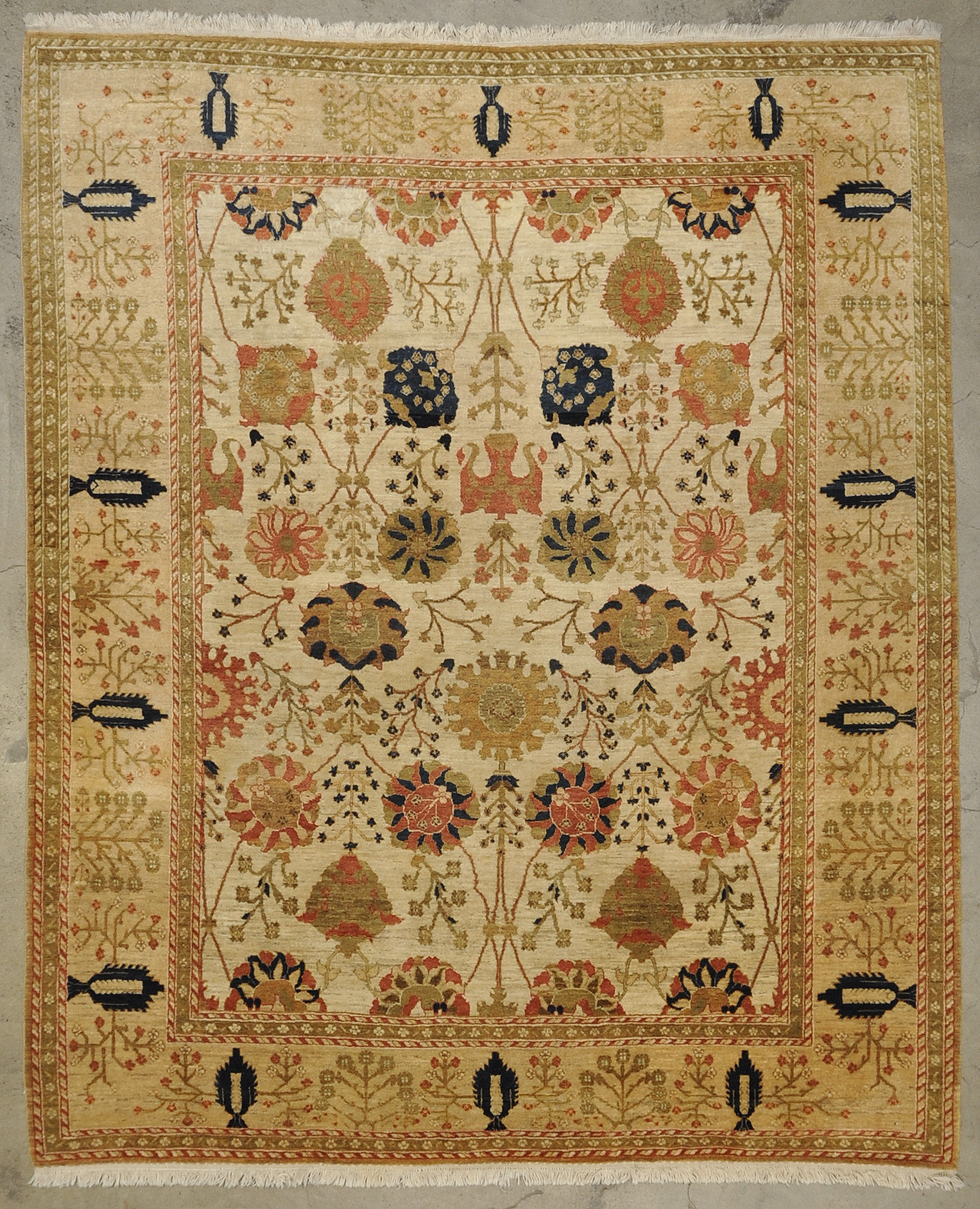 Vintage Qashgai rugs and more oriental carpet 33268-