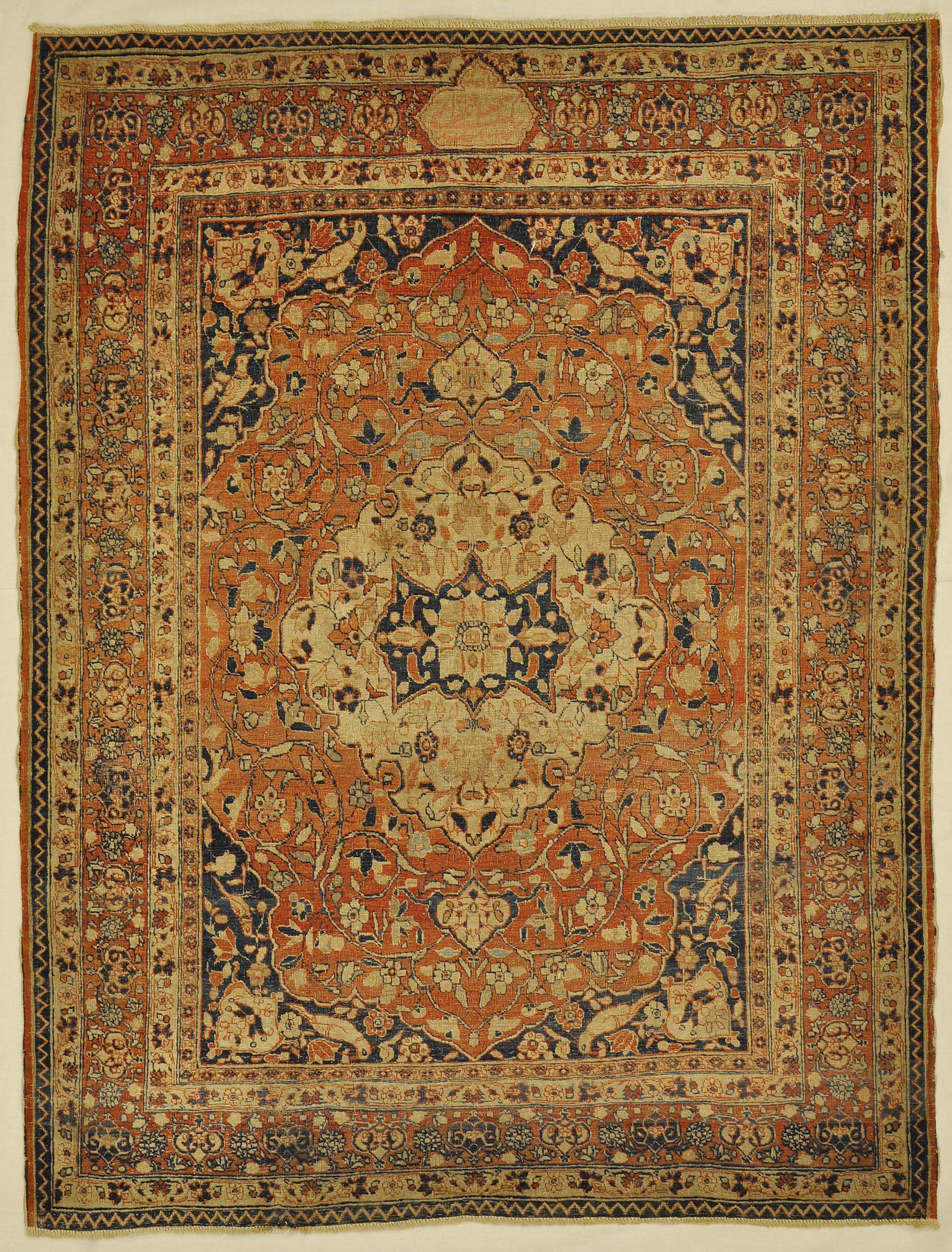 Antique Persian Haji-Jalili rugs and more oriental carpet 33270-