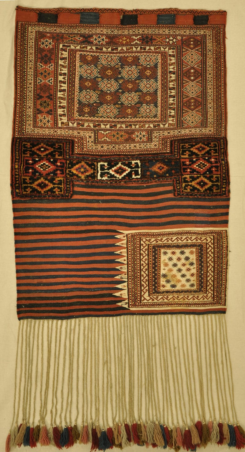 Antique Bakhtiari Saddle Bag rugs and more oriental carpet 33274-