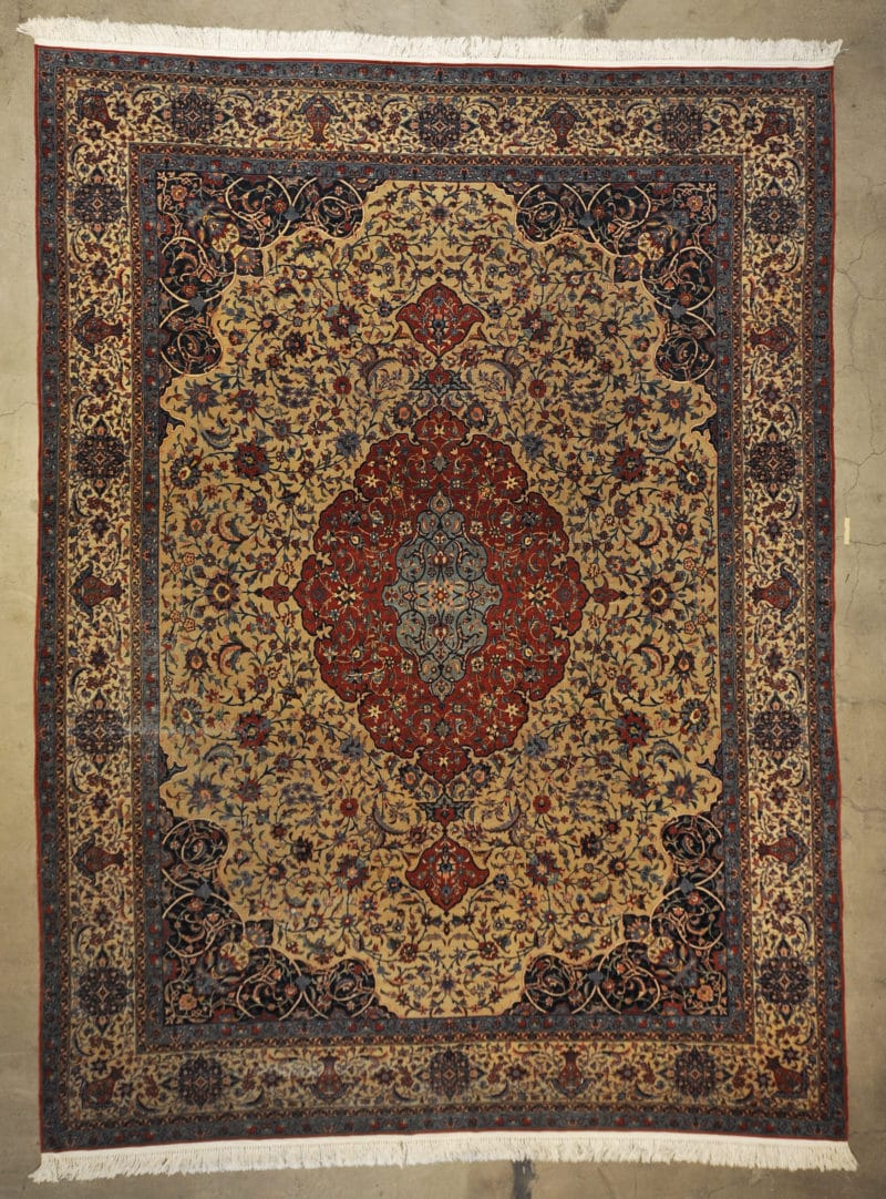 Rare Antique Isfahan rugs and more oriental carpet 33295-