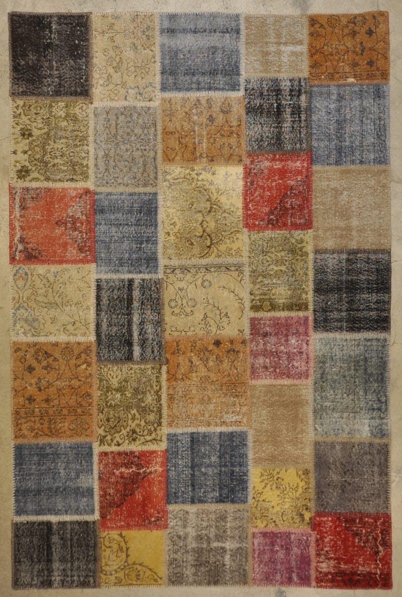 multi patchwork rugs and more oriental carpet 33303-
