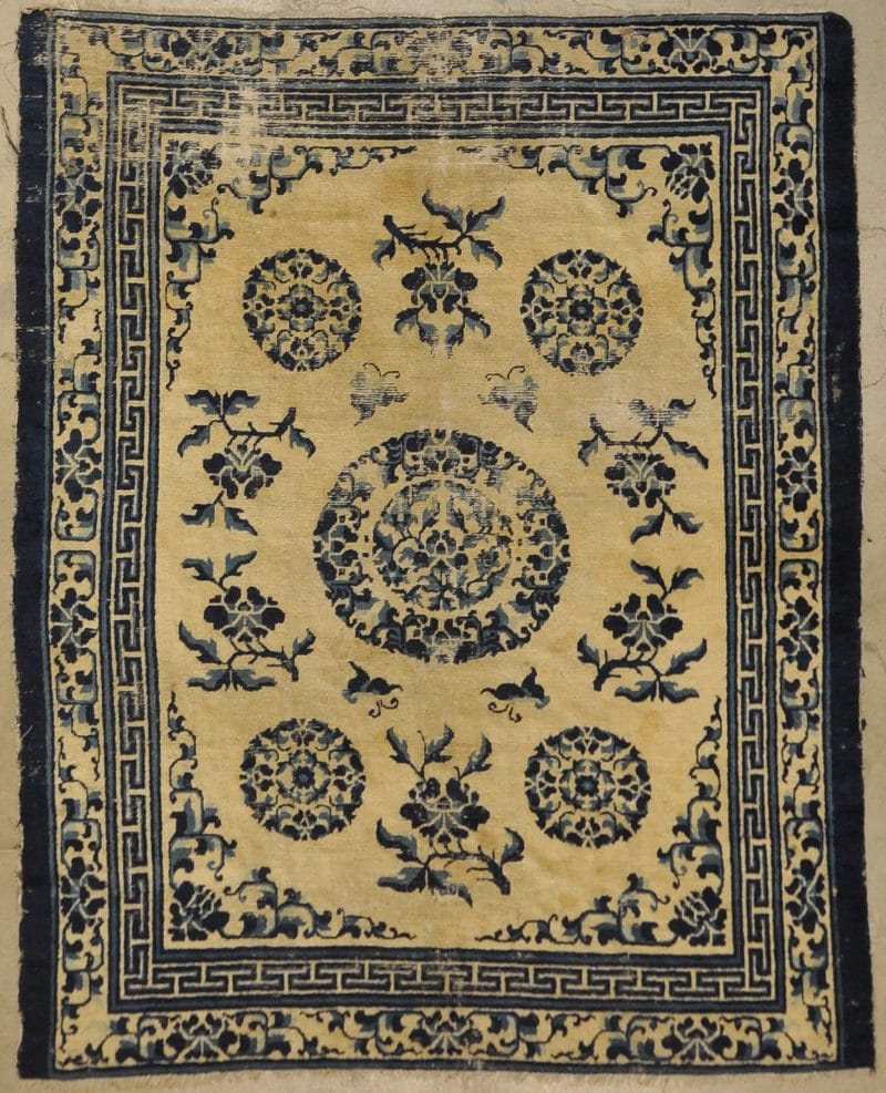Qing Chinese Dynasty rugs and more oriental carpet 33308-