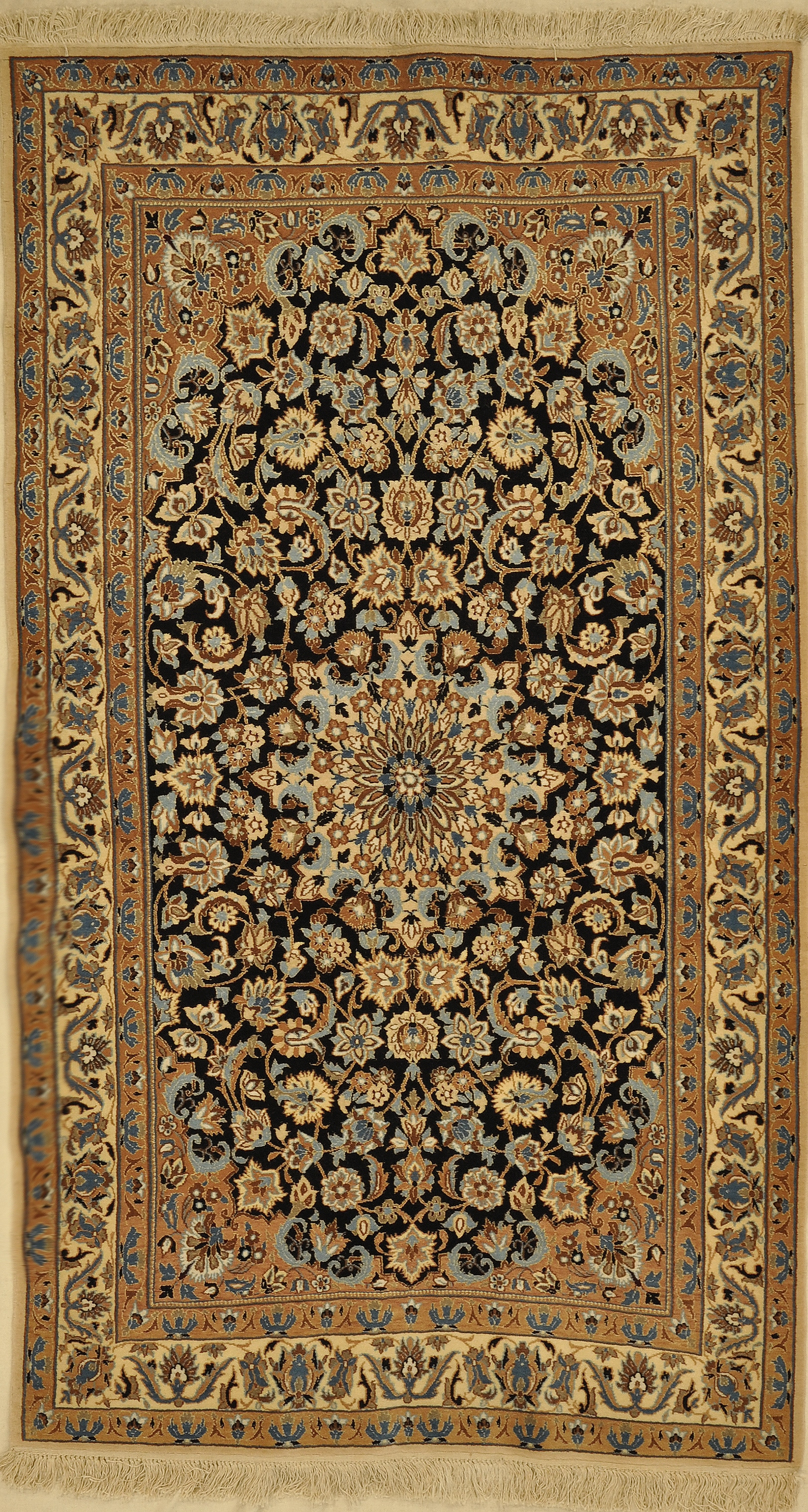 Vintage Persian Nain rugs and more oriental carpet 33437-