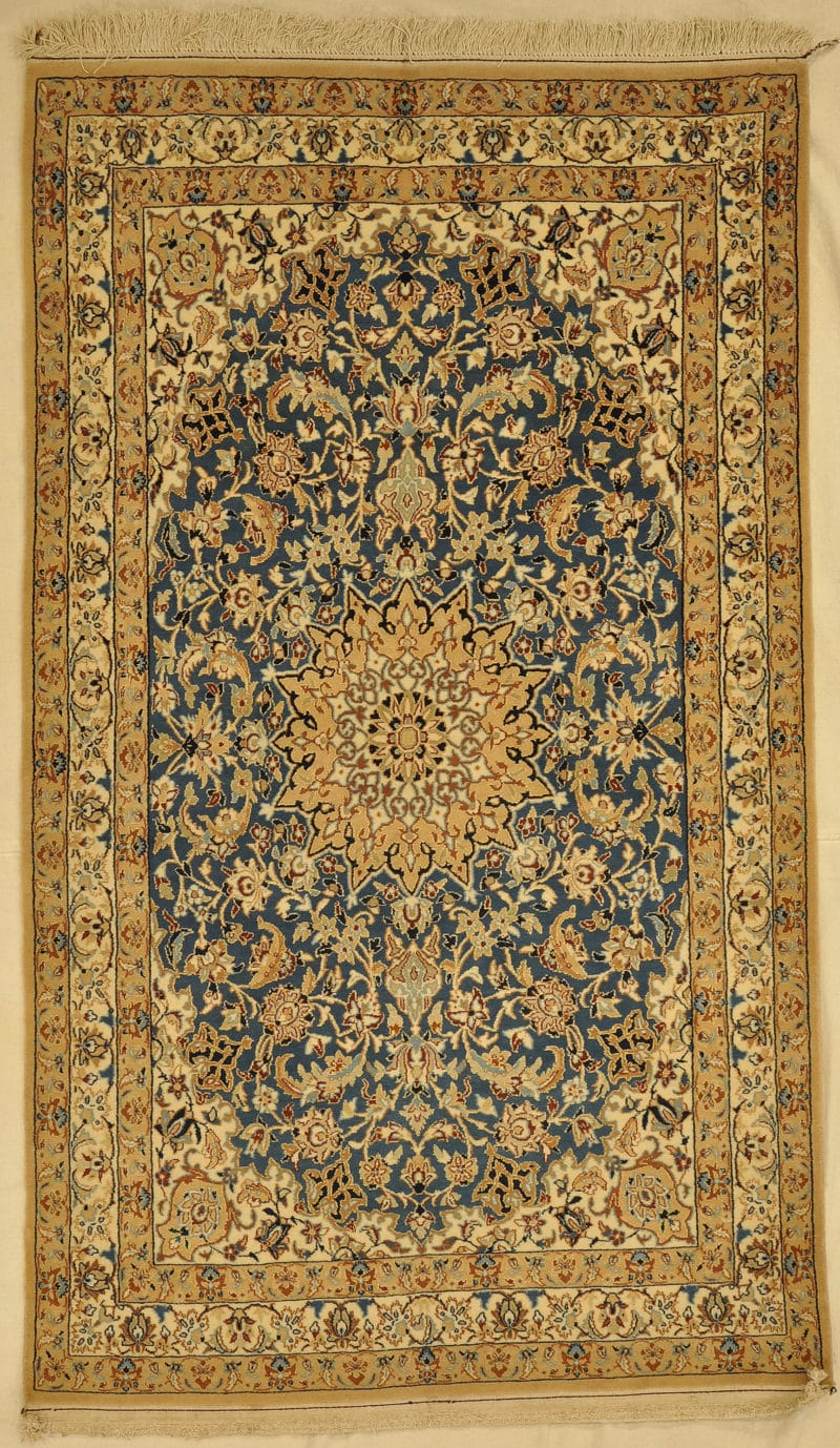 Vintage Persian Nain rugs and more oriental carpet 33438-