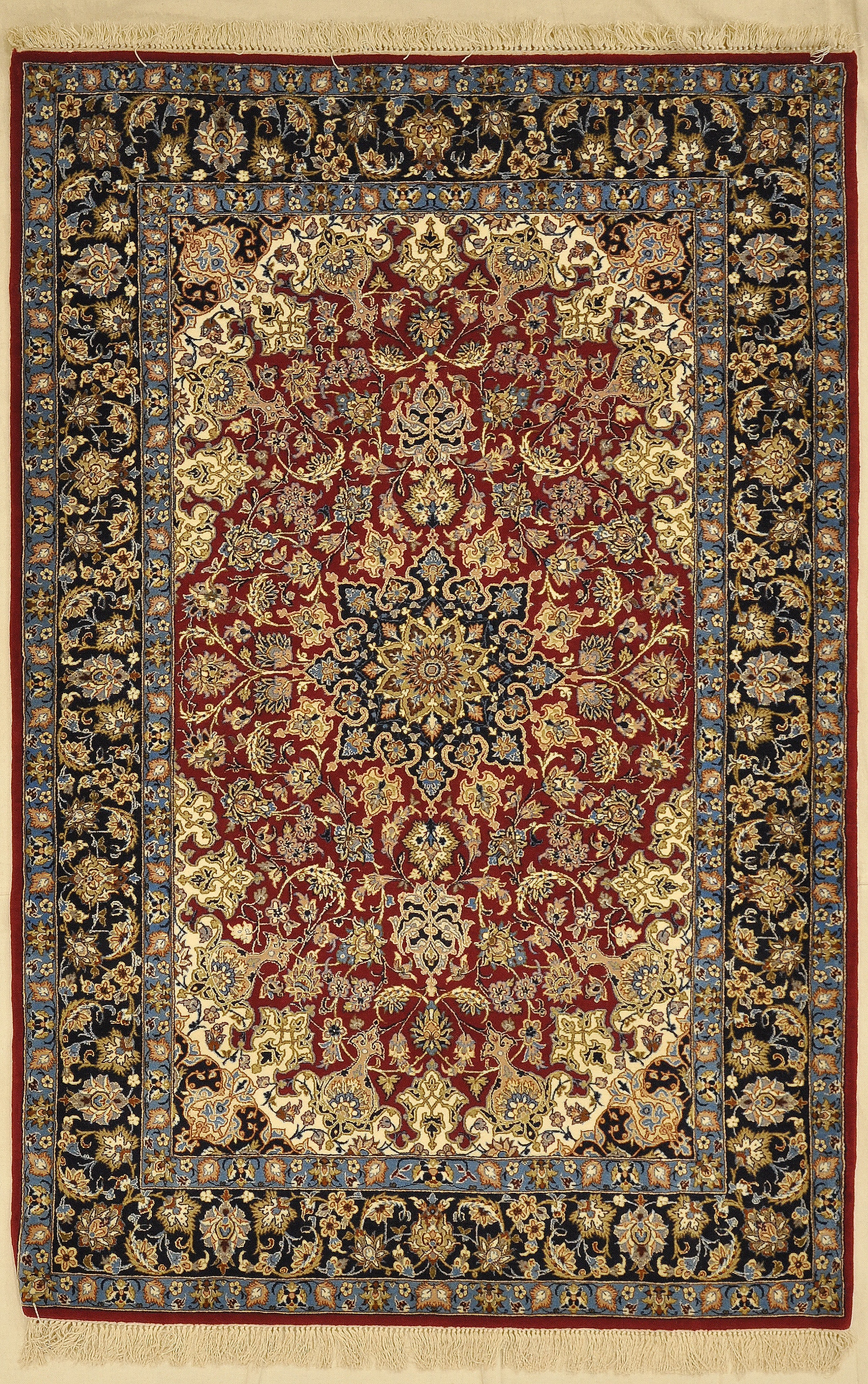 Vintage persian nain rugs and more oriental carpet 33440-