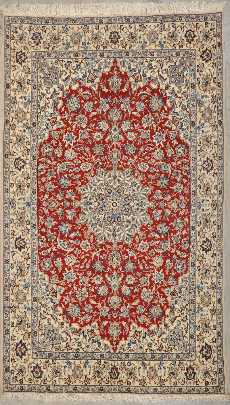 Vintage Persian Nain rugs and more oriental carpet 33443-1