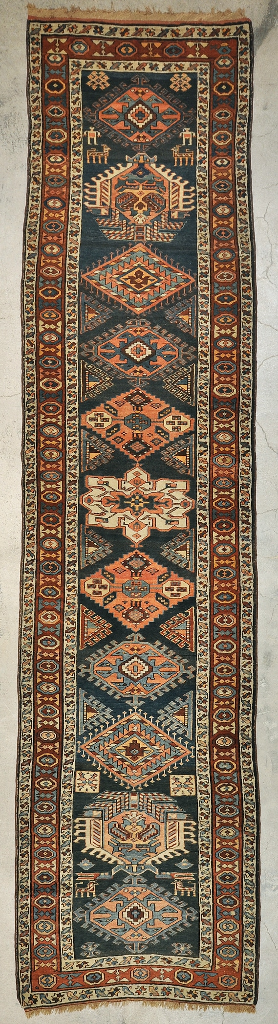 Antique Wedding Heriz Runner rugs and more oriental carpet 43897-