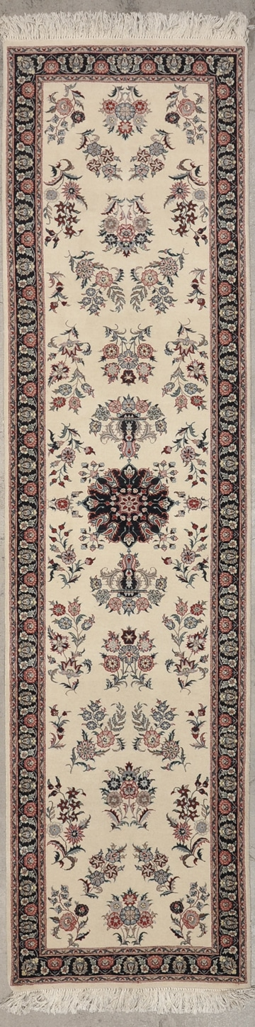 Fine Indo Kashan Runner rugs and more oriental carpet 44292-