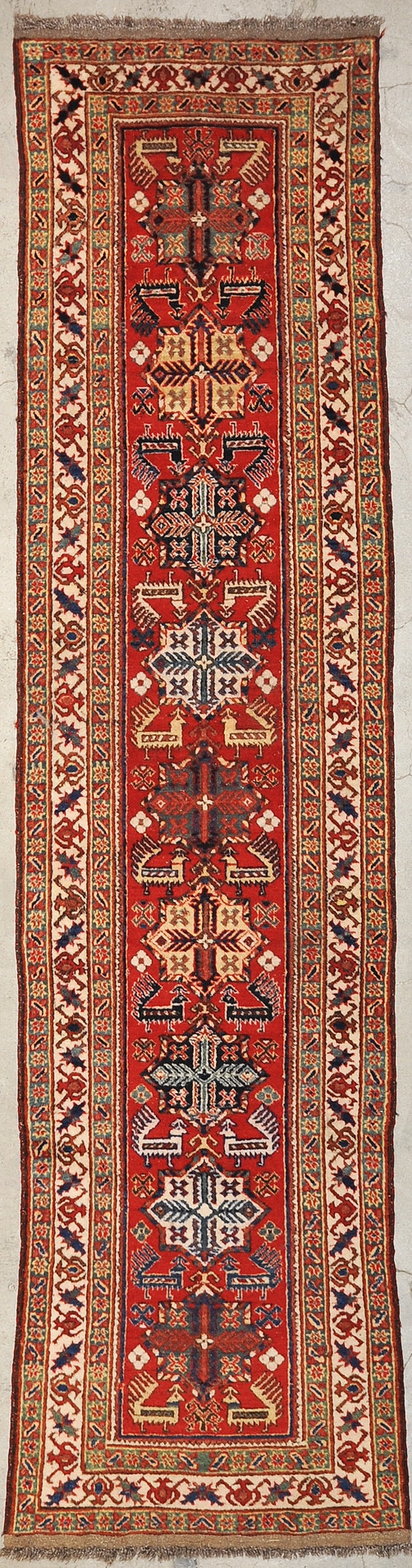 Fine Caucasian Design rugs and more oriental carpet 28614-1