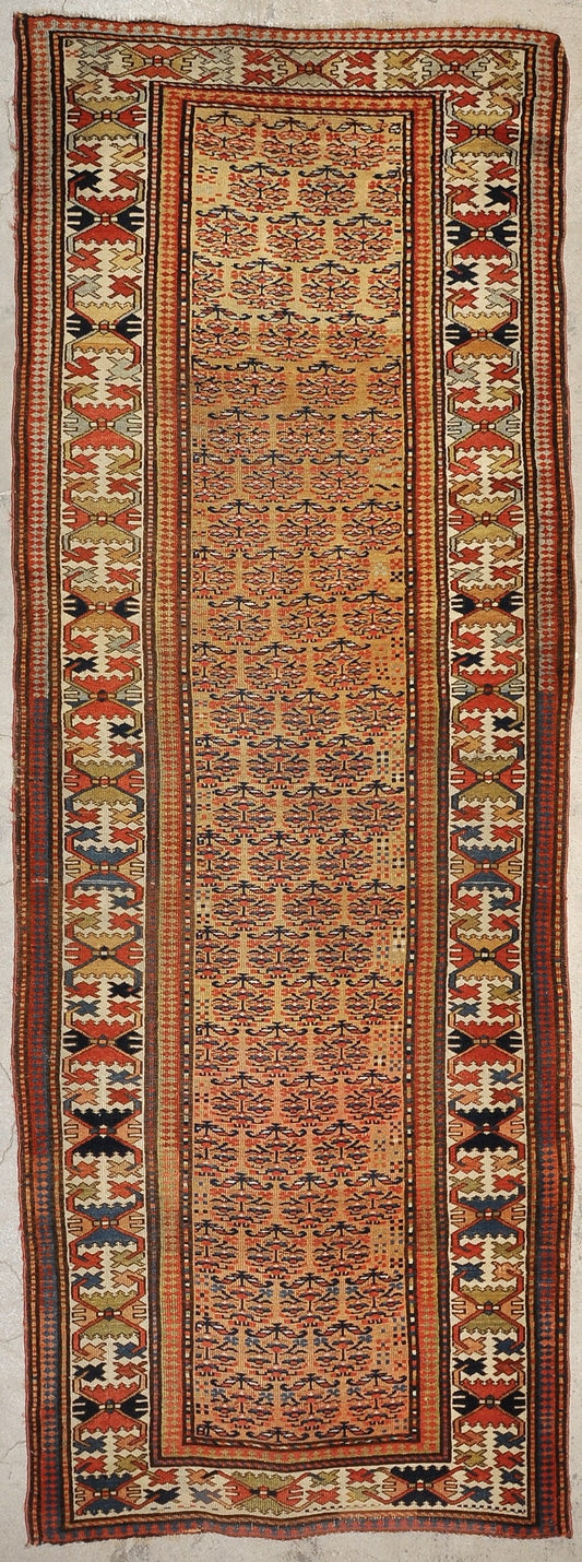 Antique Caucasian Runner rugs and more oriental carpet 28612-