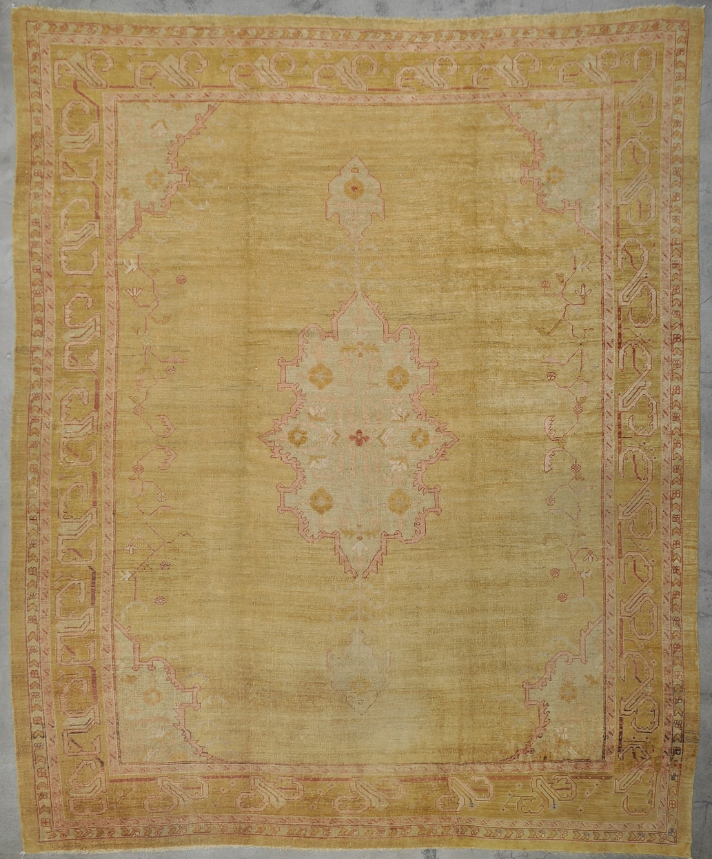Antique Angora Usak rugs and more oriental carpet 33671-1