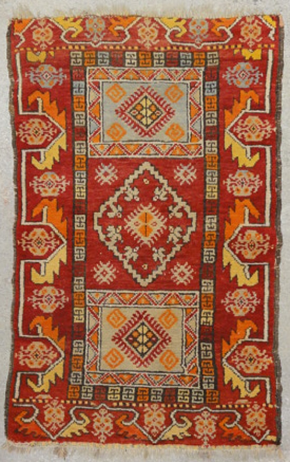 Antique Yastik rug rugs and more oriental carpet 33675-