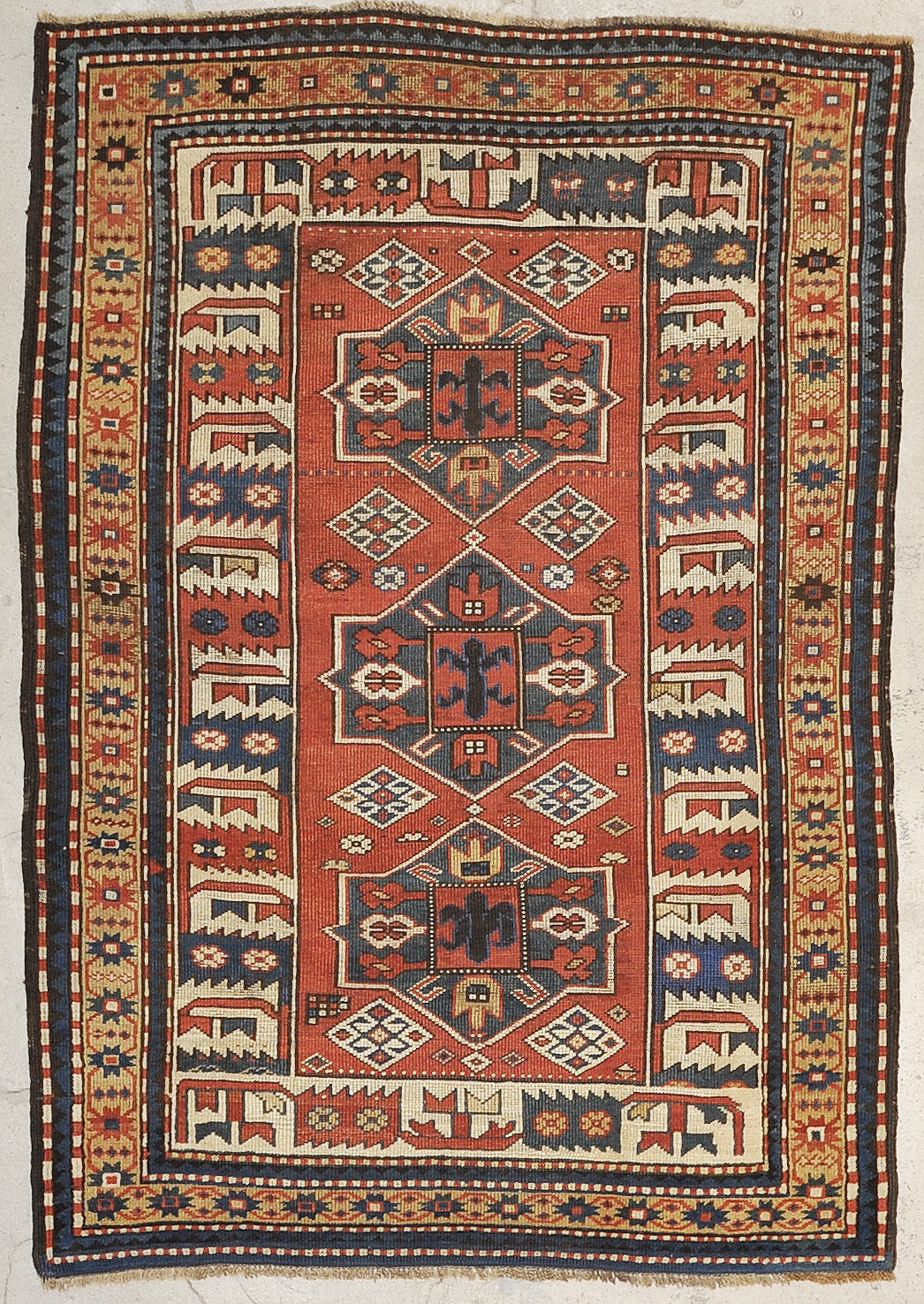 Kazak Antique rugs and more oriental carpet 33678-