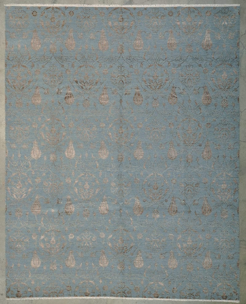 Wool & Silk Fortuni rugs and more oriental carpet 33673-