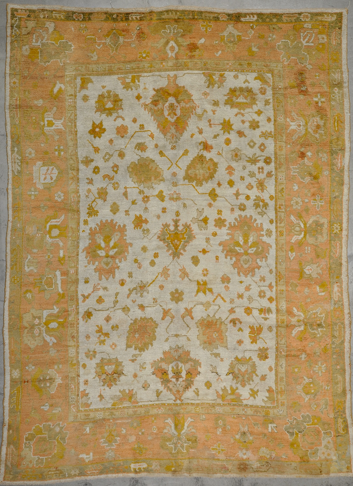 Antique Angora Usak rugs and more oriental carpet 33670-