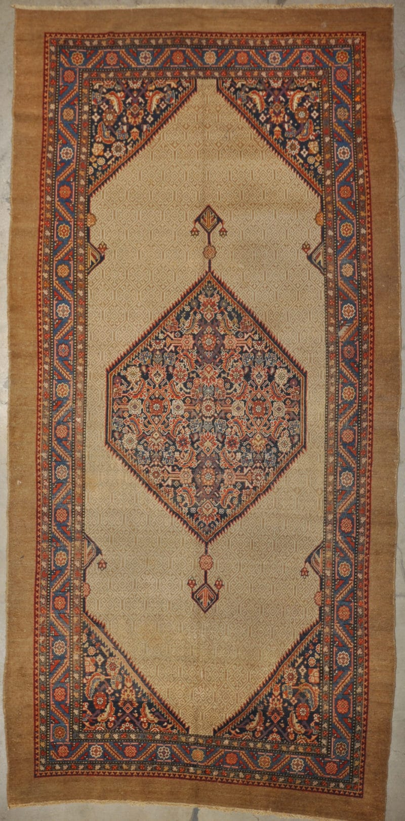 Antique Sarab Camel Hair rugs and more oriental carpet 33663-