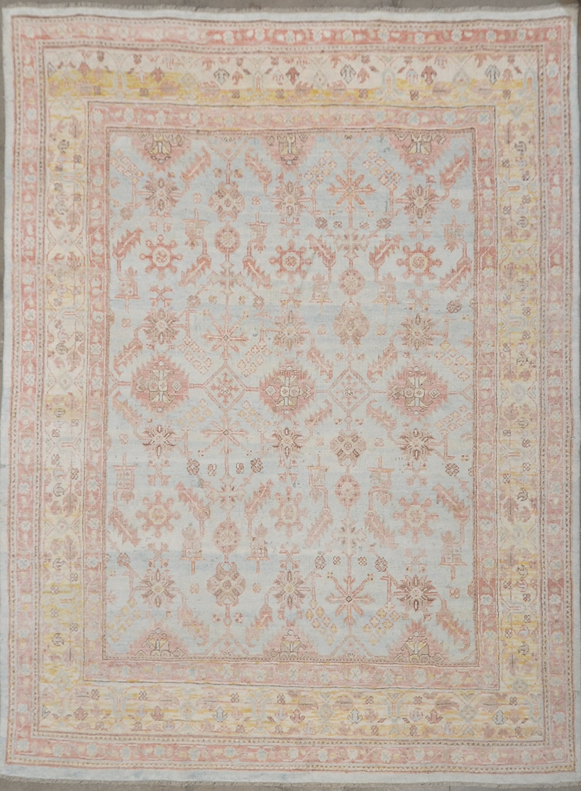 Sari Silk Neo Usak Rug XI rugs and more oriental carpet 44959-