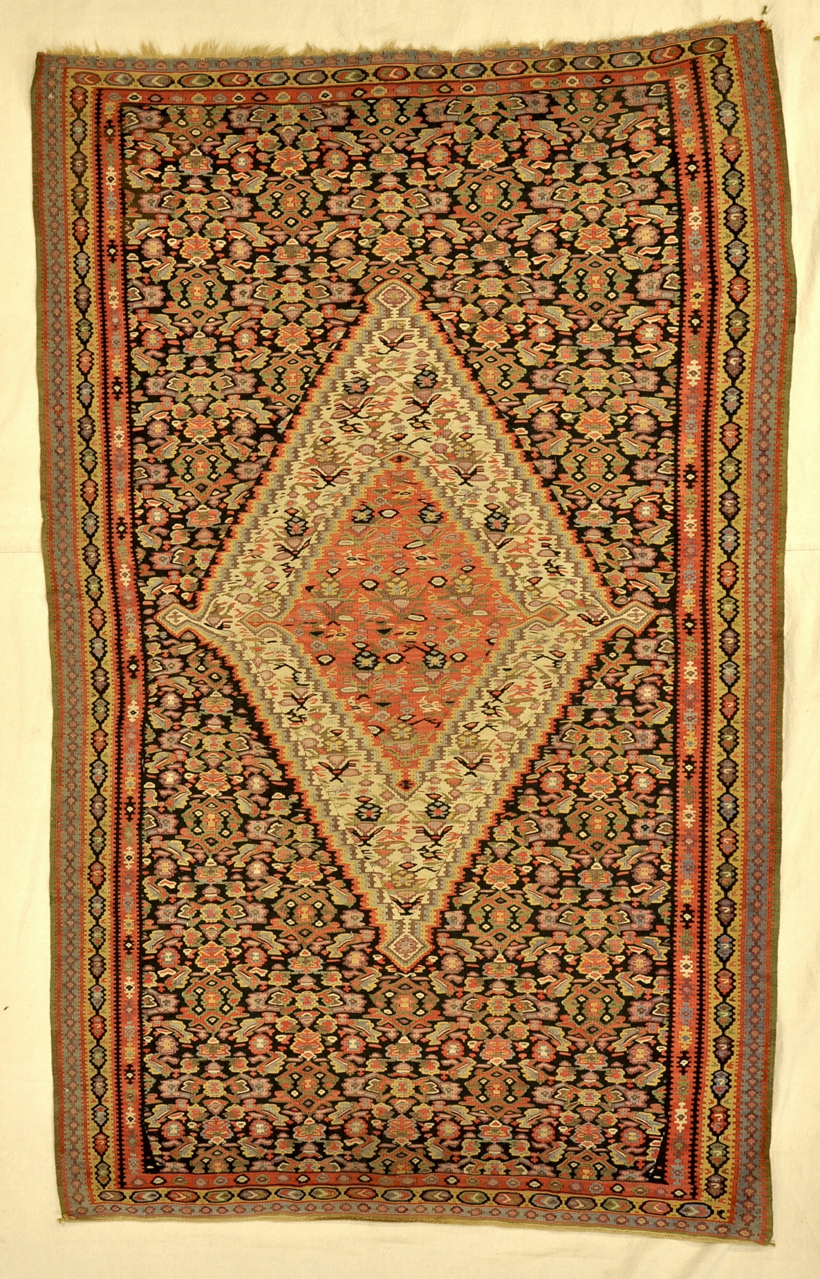 Antique Senneh Kelim rugs and more oriental carpet 33849-