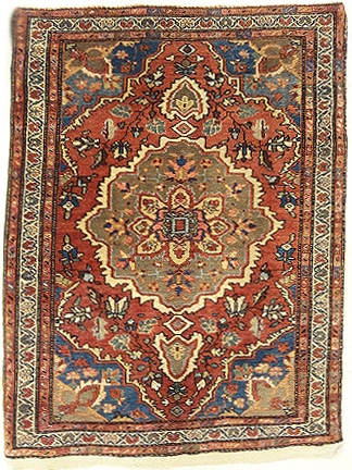 rare Antique farahan rugs and more oriental carpet 33856-