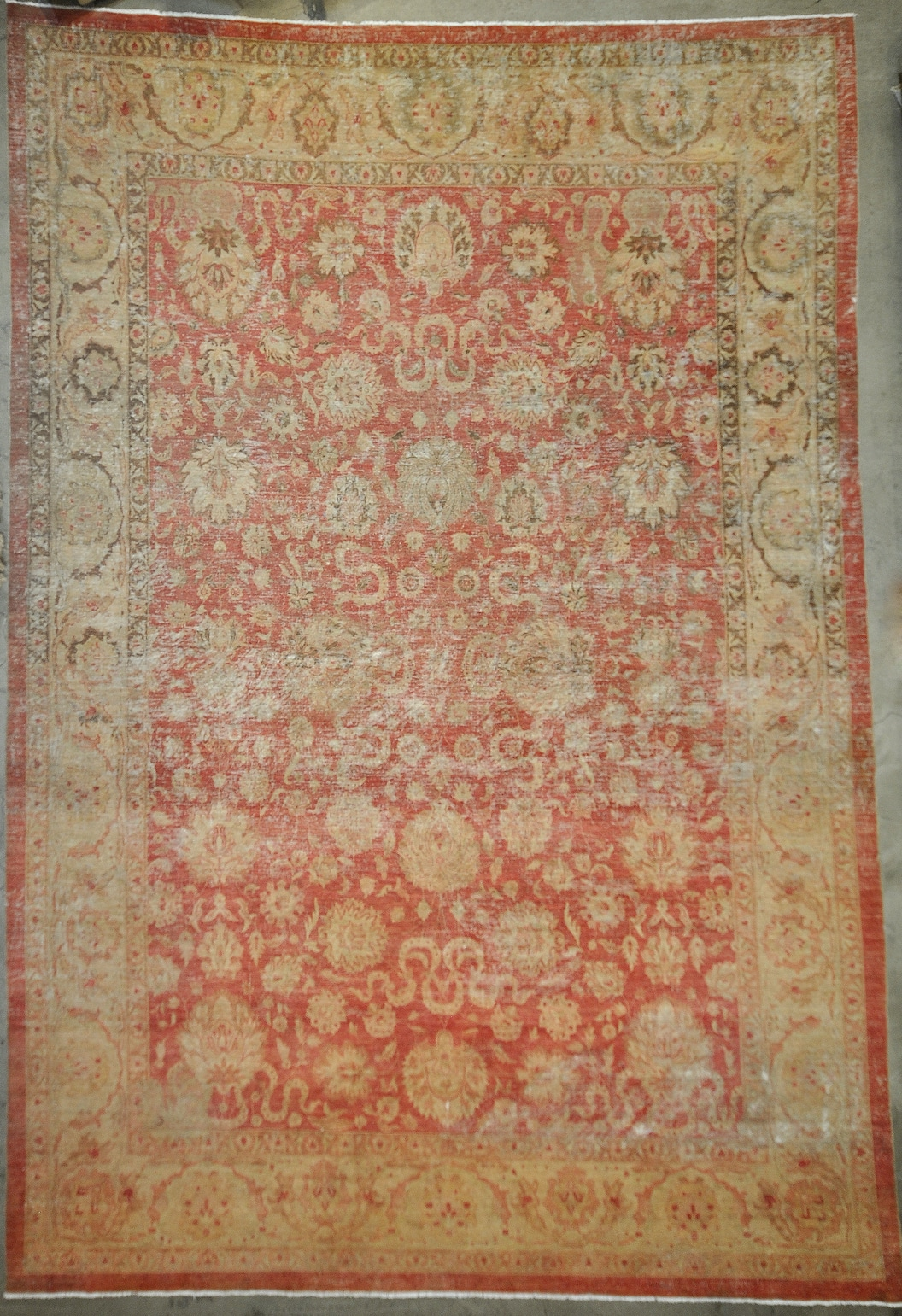 Antiqued Safavid rugs and more oriental carpet -